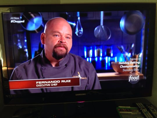 "Food Network's ""Chopped"" contestant Fernando Ruiz."
