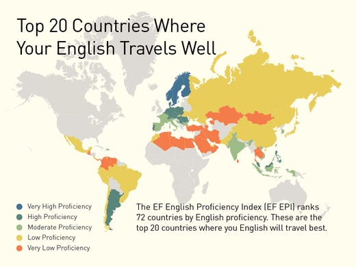 Top 20 countries where english travels well so you want to travel the world but youre worried gumiabroncs Images