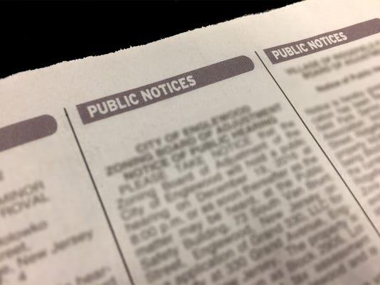 Webkey-Public Notice