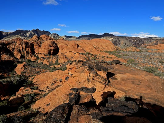 View from the Overlook Trail in Snow Canyon State Park.