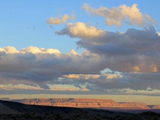 High Point Trail in the Red Cliffs Desert Reserve north of St. George.