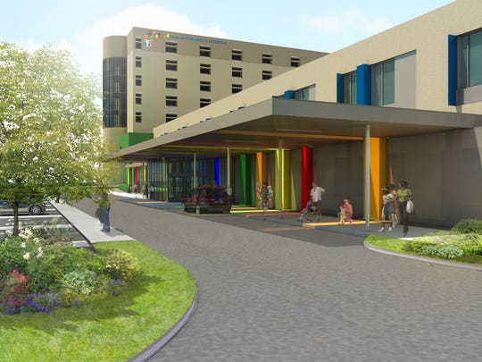 These renderings are part of Driscoll Children's Hospital's