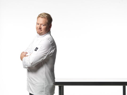 """Chef Clint Jolly of Great Thyme Catering, winner of Food Network's """"Chopped: Impossible Restaurant Challenge"""" in 2016, cooks up his clients' fondest food memories and desires with customized, eight-course menus paired with carefully selected wines."""