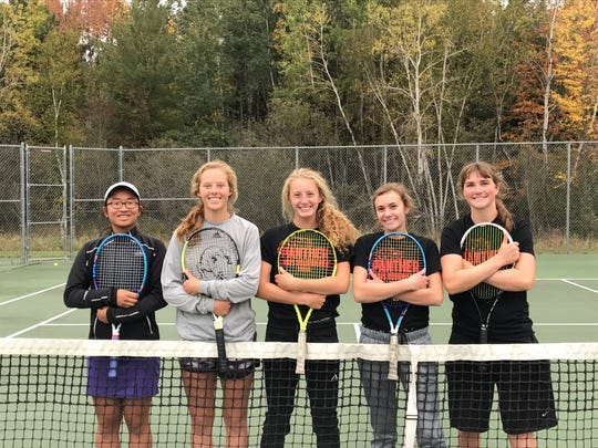SPASH will send five players to state, including singles player Sabrina Tang and the doubles teams of Maggie Negaard and Elizabeth Wentzel, and Lillie James and Taylor Konczal.