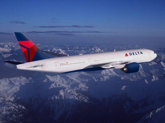 No. 9: Atlanta-Johannesburg (8,439 miles); Delta Air