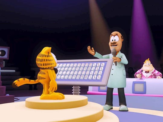 """The Garfield Show"" aired on Cartoon Network from 2009"