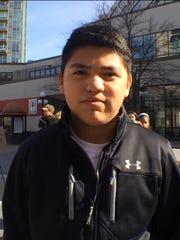 Anthony Villatoro, Max Villatoro's 15-year-old son: