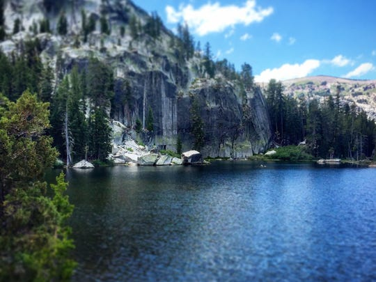 Dardanelles Lake is a nice side trip from the Tahoe Rim Trail.