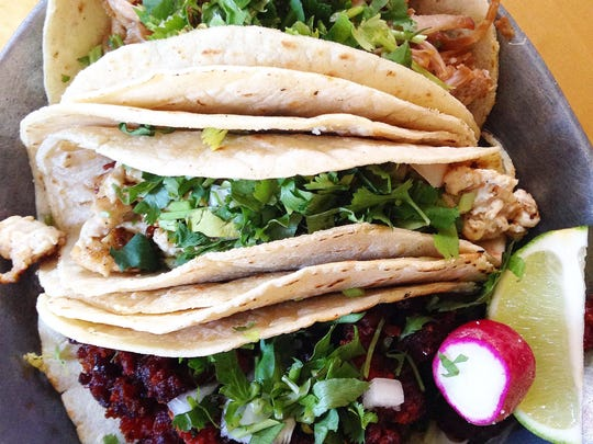 Chorizo taco at Los Gemelos in Port Chester is a must-try.