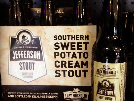 Jefferson Stout is the ideal Southern-style stout, brewed with sweet potatoes and lactose (milk sugar). The sweet potatoes provide the background to an impressive taste with added notes of roasted chocolate, coffee and caramel flavors. The lactose gives this dark and roasty ale a bit of residual sweetness.