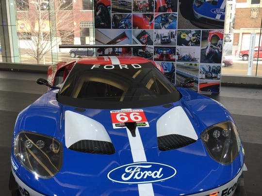 The Ford GT will return to competition in the Rolex 24 at Daytona. The road model costs about $390,000.