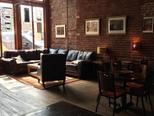 Open since 2003, the MudLounge on Walnut Street downtown is popular for its cozy atmosphere as well as its coffee, cocktails and other beverages.