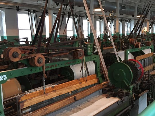 A look inside the historic Boott Mill in Lowell, Mass., in 2016.