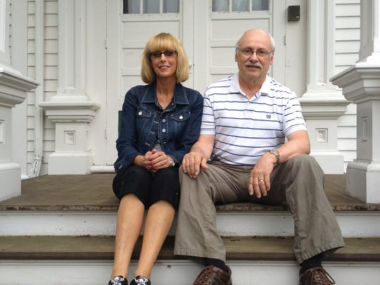 Carla and James Schuster have made their historic home on East Pioneer Road a labor of love and are moving out after 41 years. The home is up for sale and will be available for tours July 25-26.