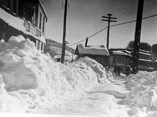 Main Street at the railroad tracks, Glen Rock, circa 1912submitted