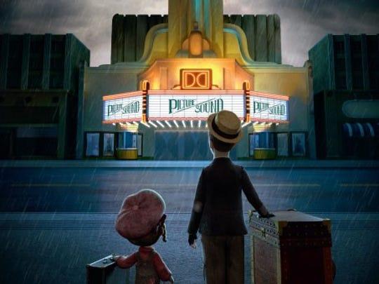 "A scene from Moonbot Studios' animated short film ""Silent."""