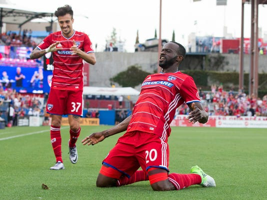 uk availability b028f c9901 FC Dallas routs Real Salt Lake with dominant first half