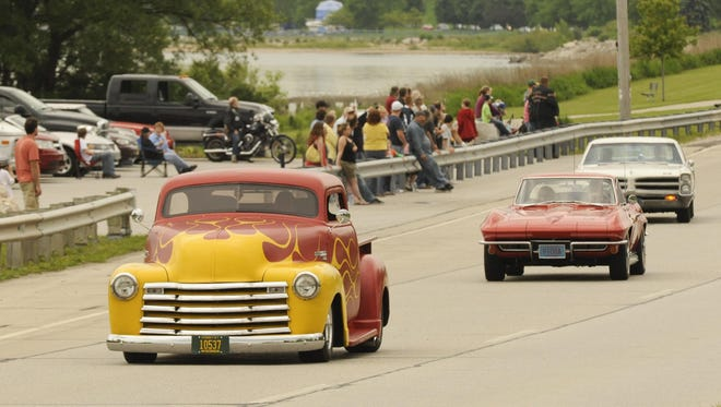 Owners of unique cars will participate in the Cool City Classic Car Cruise on Friday, which begins at the University of Wisconsin-Manitowoc and continues on to Central Park in Two Rivers.
