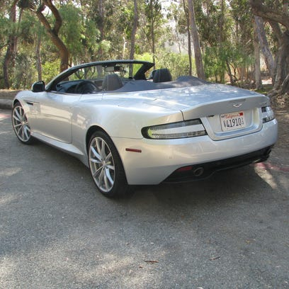 Aston Martin's DB9 GT Volante is top-down driving at