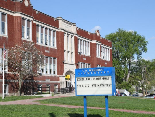 Warring Elementary School in the City of Poughkeepsie
