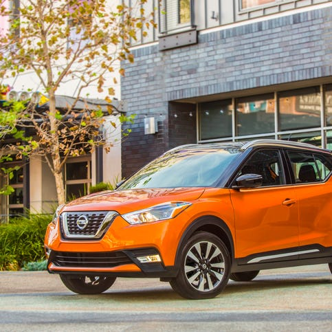 New Nissan Kicks is a colorful crossover entry