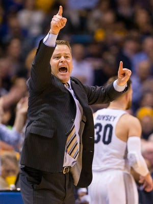 Marquette coach Steve Wojciechowski and his team didn't celebrate for long after knocking off Villanova on Tuesday night.