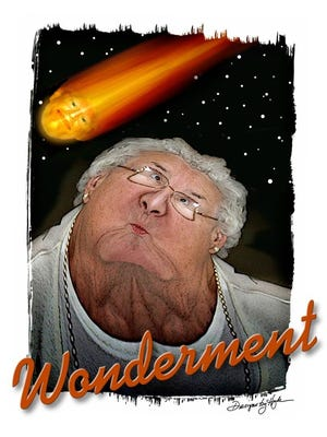 """Bryan Hyde's """"Wonderment"""" is just one of the artworks for sale at the Community Arts Market."""