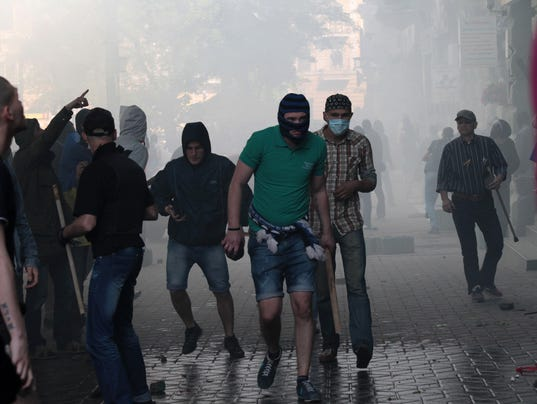 Odessa clash