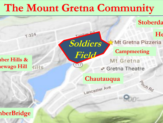Soldiers Field in Mount Gretna