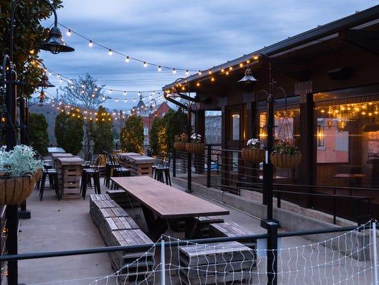 City of asheville cracks down on restaurants for outdoor lighting aloadofball Gallery