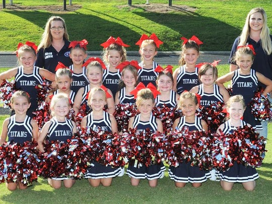 2017 Fairview Titan PeeWee Cheerleaders