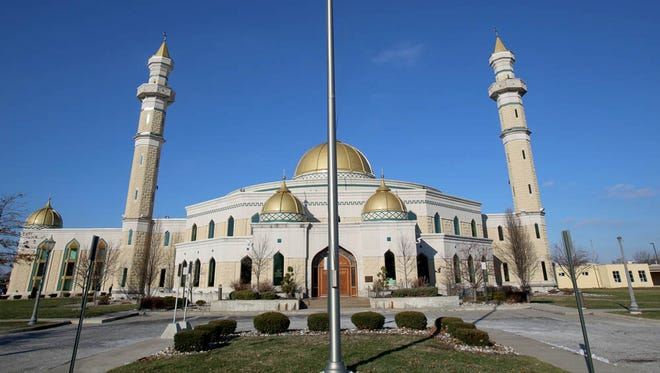 The Islamic Center of America in Dearborn on Saturday, January 2, 2016.