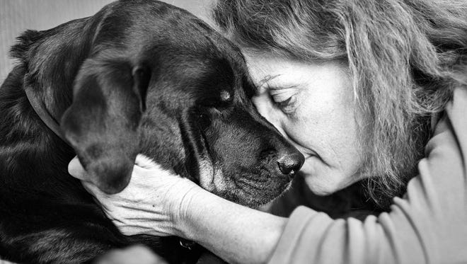 Deanne Eversmeyer and Roxie