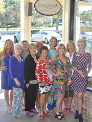 The Food Friends and Fashion Commitee includes Nicole Mier, Deb Pfrogneer, Nancy Rad, Janie Copes, Libby Crosswhite, Patty Snodgrass, and Pat Schmader.