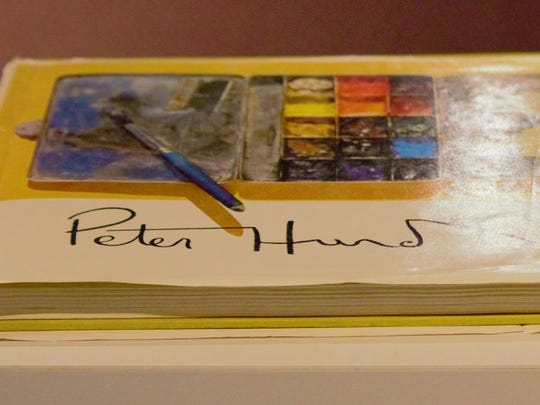 One of Hurd's most prized possessions that was on display during the Wyeth/Hurd exhibit.