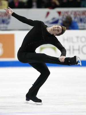 Figure skater Jeremy Abbott will be among the Team USA Olympians visiting Washington Park as part of a WinterFest tour Dec. 2.