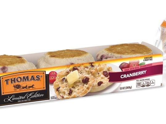 Cranberry English Muffin