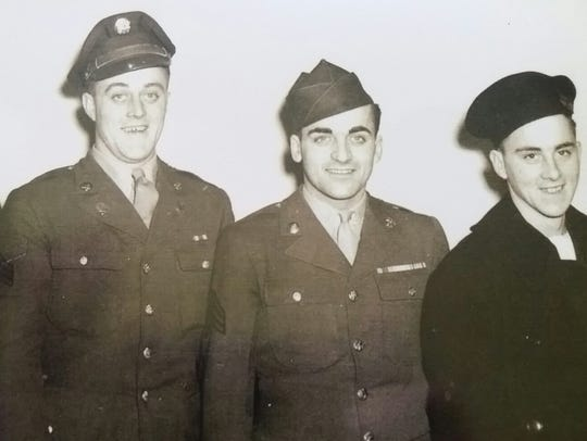 Four of the five Dillon brothers who all served during