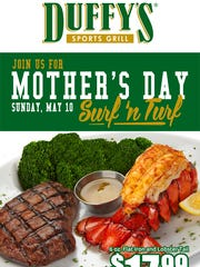 Duffy's Sports Grill Mother's Day Special