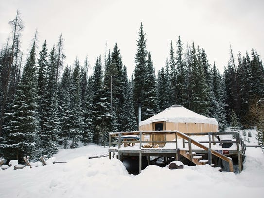 Never Summer Nordic offers 11 yurts and two cabins
