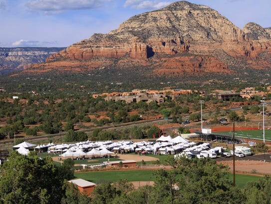Some 125 artists will participate in the Sedona Arts