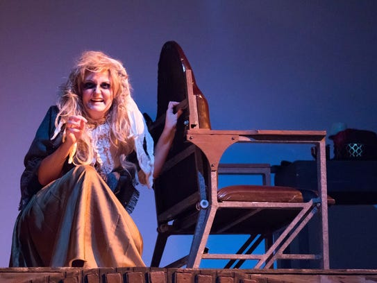 Ashleigh Littlefield as Beggar Woman with Sweeney's
