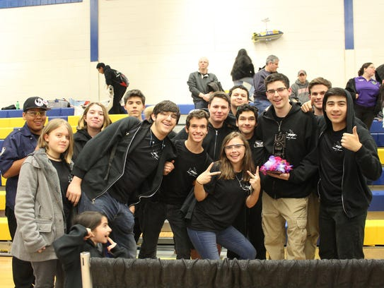 Forty robotics teams from the tri-state area descended