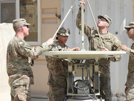 Soldiers from the 1st Armored Division Sustainment
