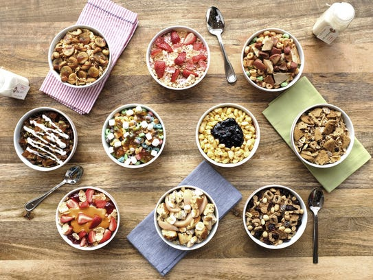 The new Kellogg's NYC Café opens on Thursday, Dec.