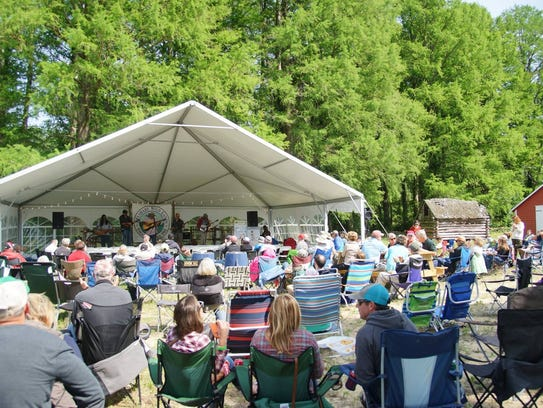 Festivalgoers can enjoy nationally acclaimed bluegrass