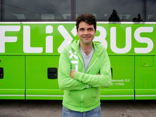 Pierre Gourdain, U.S. Managing Director of Flixbus,