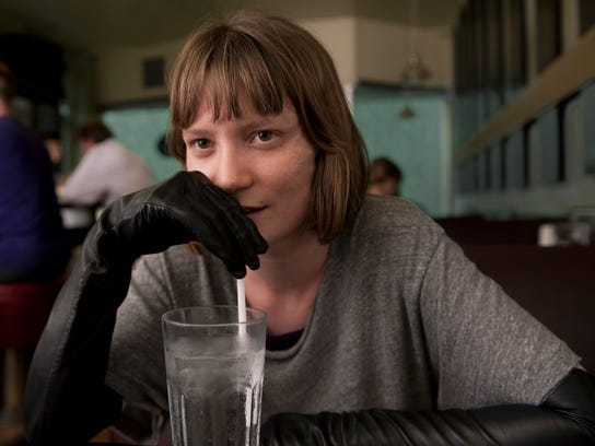"""Mia Wasikowska in a scene from """"Maps to the Stars."""""""