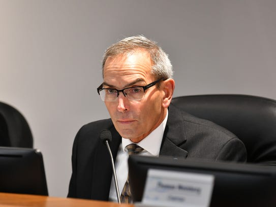 Canaveral Port Authority Chairman Wayne Justice, in