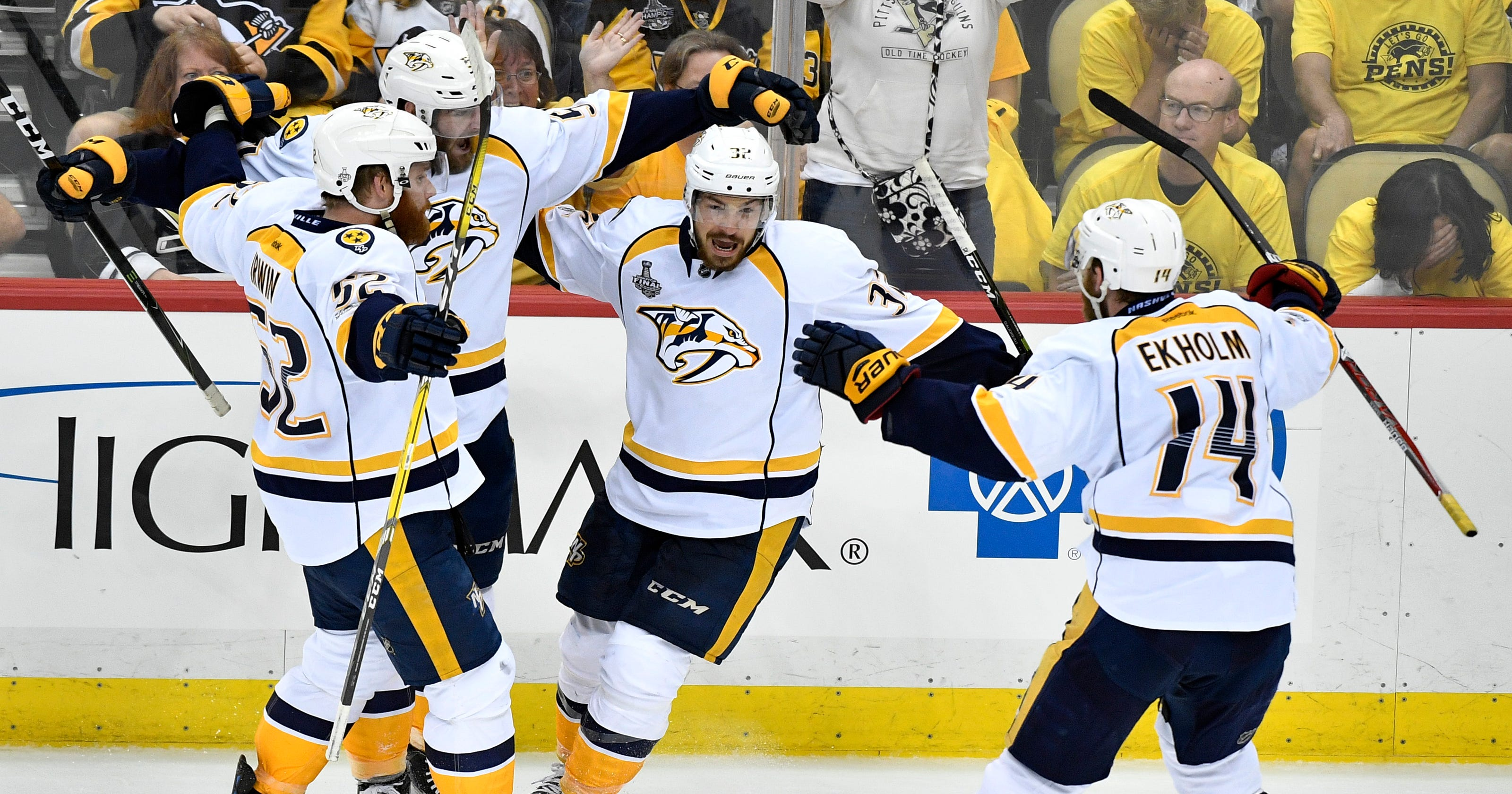 on sale 0bc7b ddf01 Nashville Predators sign Frederick Gaudreau to 3-year contract